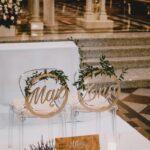 dekoracja kościoła z drewna